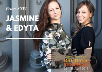 Jasmine and Edyta